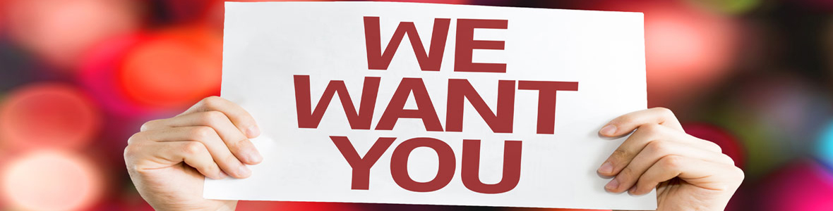 We Want You Sign